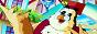 Логотип онлайн ТВ Тётушка Сова. Английский алфавит
