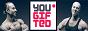Логотип онлайн ТВ YOUGIFTED. Фитнес для мужчин