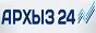 Логотип онлайн ТВ Архыз 24