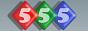 Логотип онлайн ТВ 555