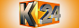 Логотип онлайн ТВ K24