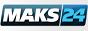 Логотип онлайн ТВ Макс 24