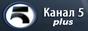 Логотип онлайн ТВ Канал 5 Плюс