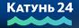 Логотип онлайн ТВ Катунь 24
