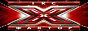 Логотип онлайн ТВ X-фактор. 1 сезон