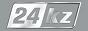 Логотип онлайн ТВ 24 KZ