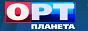 Логотип онлайн ТВ ОРТ Планета